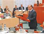 Курс на развитие.Губернатор Владимир Артяков представил депутатам бюджетное послание