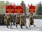 В Самаре состоялся парад, посвященный 66-й годовщине Победы советского народа в Великой Отечественной войне